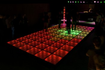 First Sustainable Dance Floor