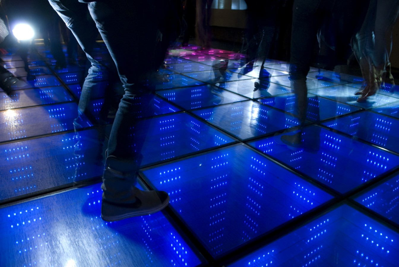 Studio Roosegaarde Sustainable Dance Floor Photos