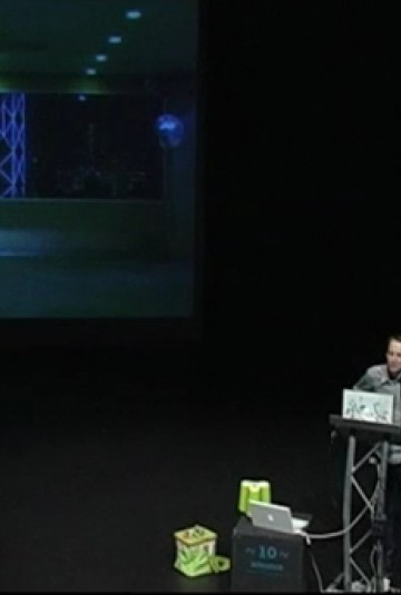 Daan Roosegaarde talks about Liquid Space 6.0