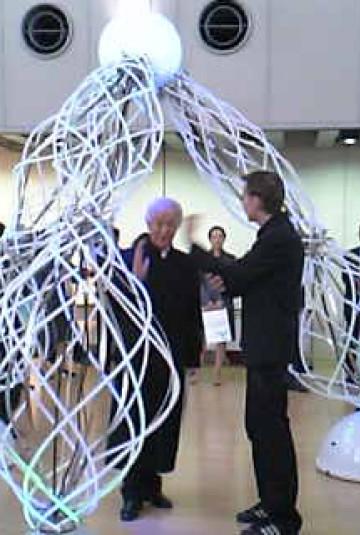 Arata Isozaki & Daan Roosegaarde in