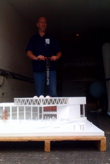 Assen maquette on the go