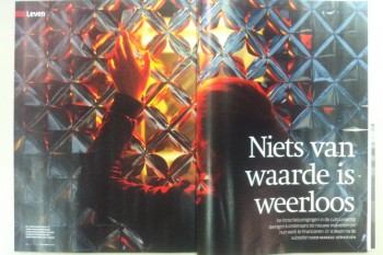 Interview in ODE with Daan Roosegaarde about the value of art
