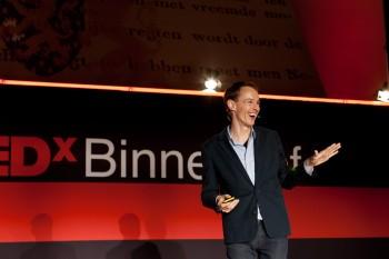 Roosegaarde lectures at TEDx Binnenhof
