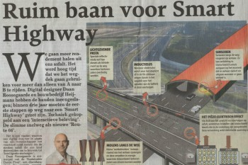 Telegraaf headlines our Smart Highway