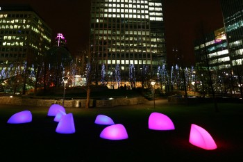 Marbles at Canary Wharf London UK