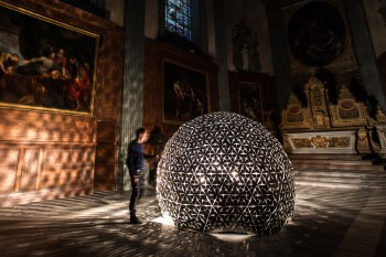 Lotus Dome creates Techno Church in Lille