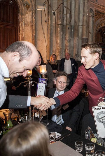 TIM Award for Most Innovative Leader