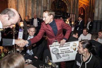 Daan Roosegaarde wins TIM Innovation Award