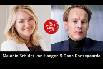 Minister Schultz and Daan at DWDD