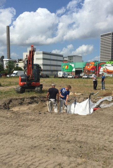 Building the Smog Free Park in Rotterdam