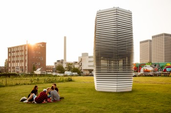 Smog Free Tower opens in Rotterdam