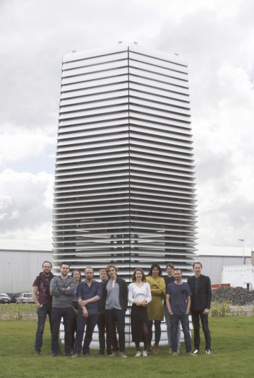 Smog Free Project goes Beijing