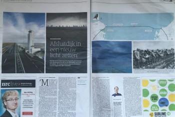 NRC interview Icoon Afsluitdijk