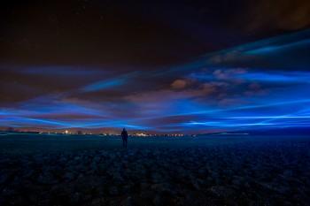 Special WATERLICHT at Afsluitdijk